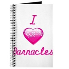 I Love/Heart Barnacles Journal