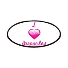 I Love/Heart Barnacles Patches