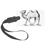 Camel Crest Large Luggage Tag