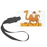 Funny Camel Large Luggage Tag