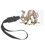 Stylized Camel Large Luggage Tag
