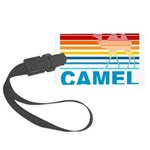 Colorful Camel Large Luggage Tag