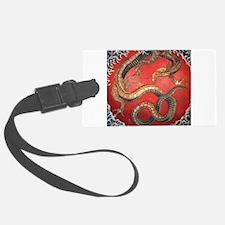 Katsushika Hokusai Dragon Luggage Tag