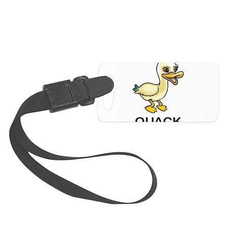 Quack Duck Small Luggage Tag