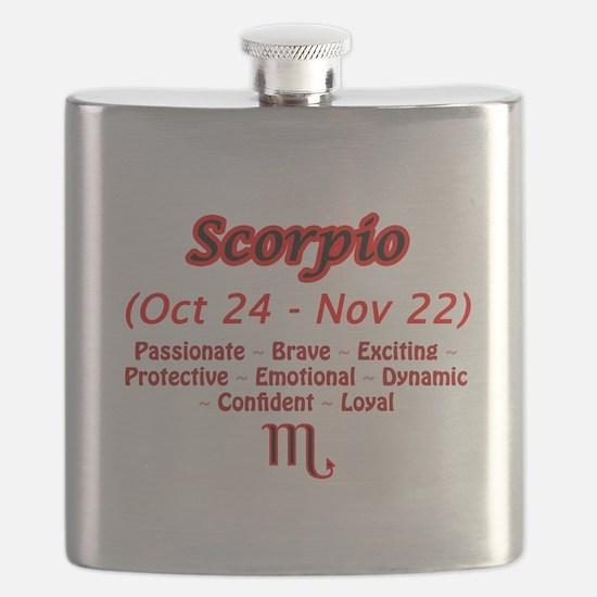 Scorpio Description Flask