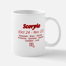 Scorpio Description Mug