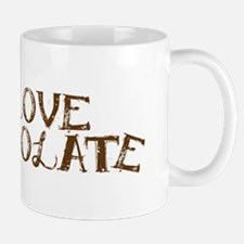 I Love Chocolate It Is Wonderful Mug