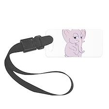 Cute Cartoon Elephant Luggage Tag