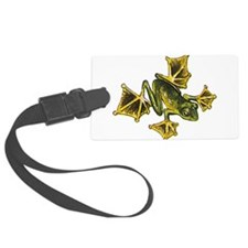 Flying Frog Luggage Tag