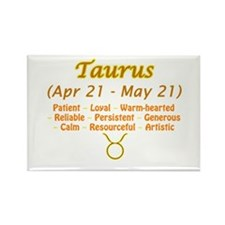Taurus Description Rectangle Magnet