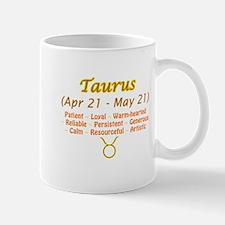 Taurus Description Mug