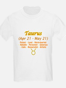 Taurus Description T-Shirt