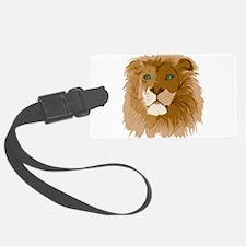 Realistic Lion Luggage Tag