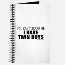 Cant Scare Have Twin Boys Journal