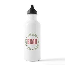 Cute Brad Water Bottle