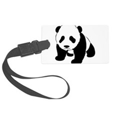 Cute Baby Panda Luggage Tag