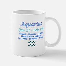 Aquarius Description Mug
