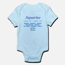 Aquarius Description Infant Bodysuit