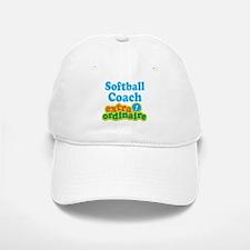 Softball Coach Extraordinaire Baseball Baseball Cap