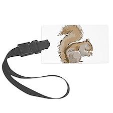 Realistic Squirrel Luggage Tag