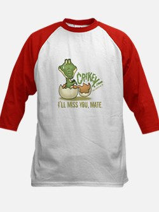 Crikey. Crocodile Hunter Kids Baseball Jersey