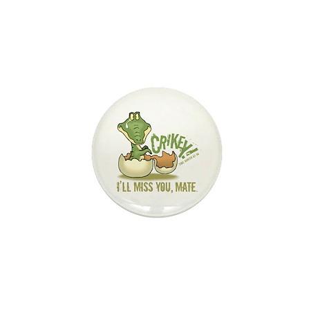 Crikey. Crocodile Hunter Mini Button (100 pack)