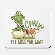 Crikey. Crocodile Hunter Mousepad
