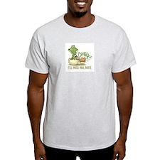 Crikey. Crocodile Hunter Ash Grey T-Shirt