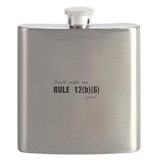 Cute Law Flask