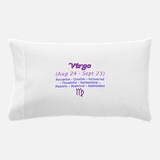 Virgo Description Pillow Case