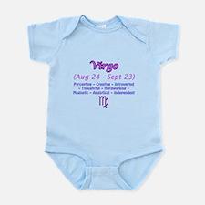 Virgo Description Infant Bodysuit