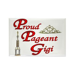 Pageant Gigi Rectangle Magnet (10 pack)