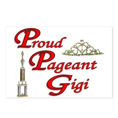 Pageant Gigi Postcards (Package of 8)