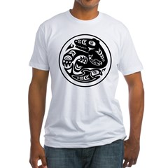 Bear & Fish Native American Design Shirt