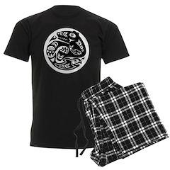 Bear & Fish Native American Design Pajamas