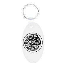 Bear & Fish Native American Design Keychains