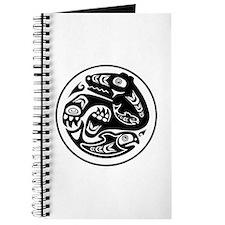 Bear & Fish Native American Design Journal