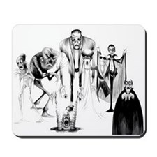 Classic movie monsters Mousepad