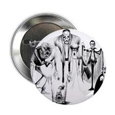 """Classic movie monsters 2.25"""" Button"""