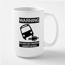 Under the Bus (Female) Mugs