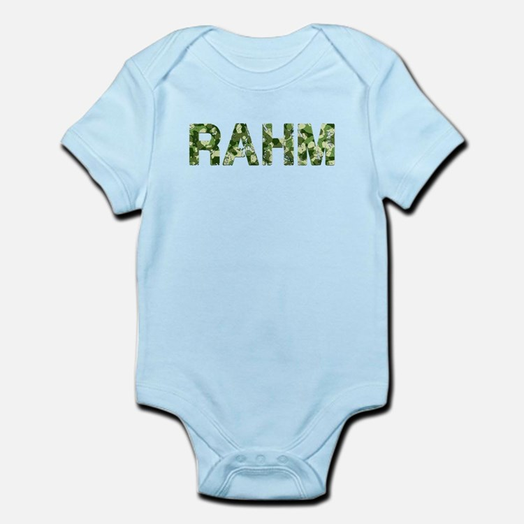 Rahm, Vintage Camo, Infant Bodysuit