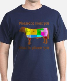 Meat to Please You T-Shirt; dark colors