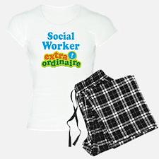 Social Worker Extraordinaire Pajamas