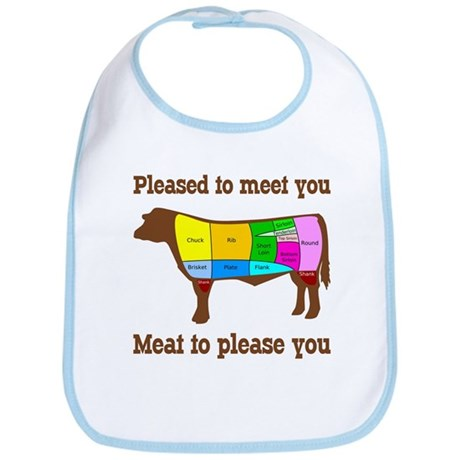 Meat to Please You Beef Eater's Bib