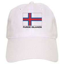 The Faroe Islands Flag Stuff Baseball Cap