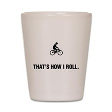 Bicycle Riding Shot Glass