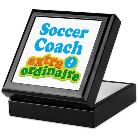 Soccer Coach Extraordinaire Keepsake Box