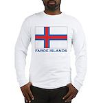 The Faroe Islands Flag Gear Long Sleeve T-Shirt