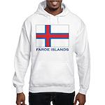 The Faroe Islands Flag Gear Hooded Sweatshirt
