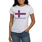 The Faroe Islands Flag Gear Women's T-Shirt